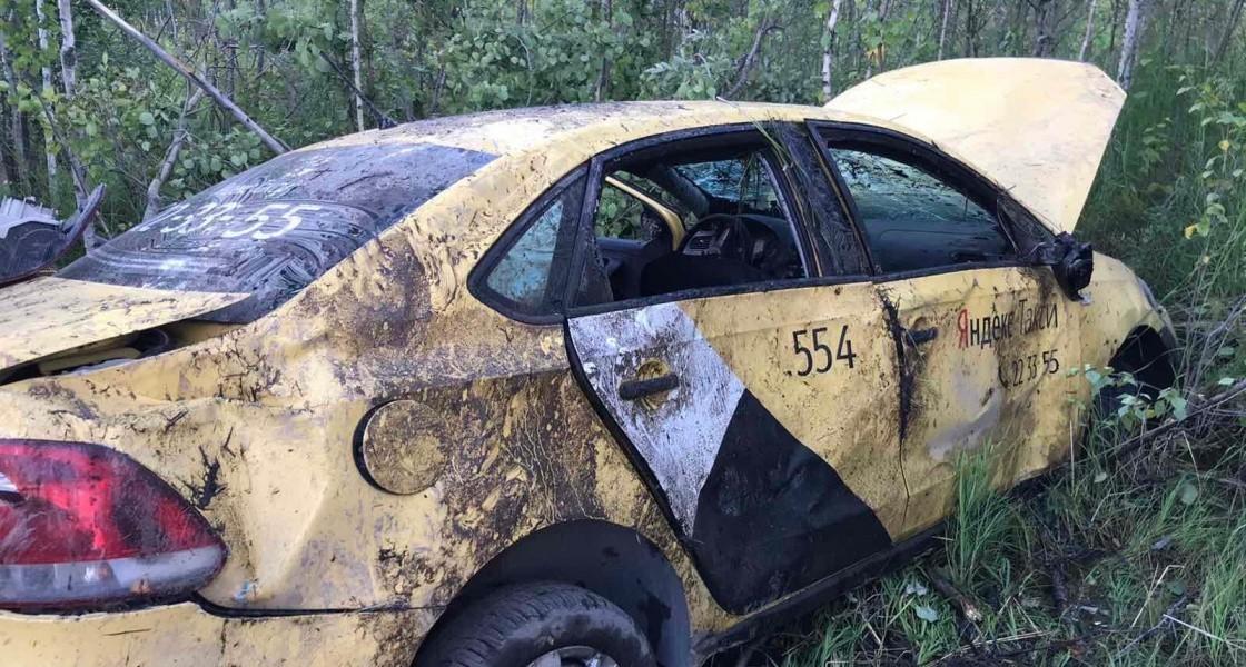 Пьяный водитель на автомобиле «Яндекс такси» устроил ДТП